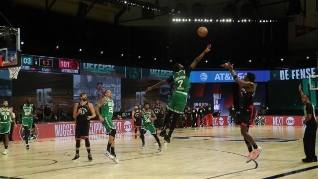 Celtics Vs Raptors Score Takeaways Og Anunoby Hits Buzzer Beater As Toronto Cuts Series Deficit To 2 1 Cbssports Com