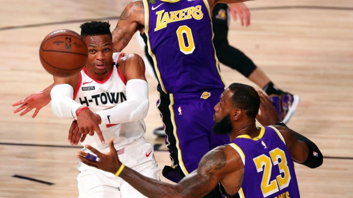 Rockets vs. Lakers score: Live NBA playoff updates as ...