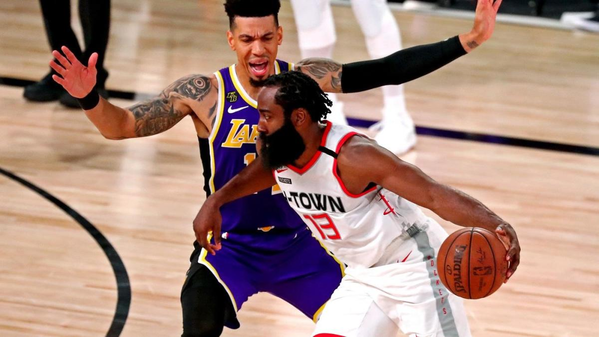 Rockets Vs Lakers Score Takeaways James Harden Scores 36 Points Houston Jumps Out To An Early Series Lead Cbssports Com