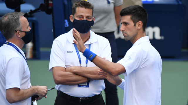 Novak Djokovic Disqualified From 2020 Us Open For Hitting Ball At Line Judge Says He Feels Empty In Apology Cbssports Com