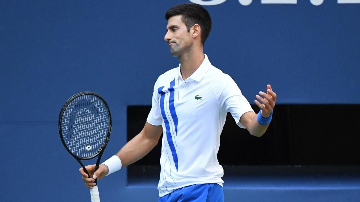Us Open 2020 Looking At The Men S Field And Odds With Novak Djokovic Out After Default Cbssports Com