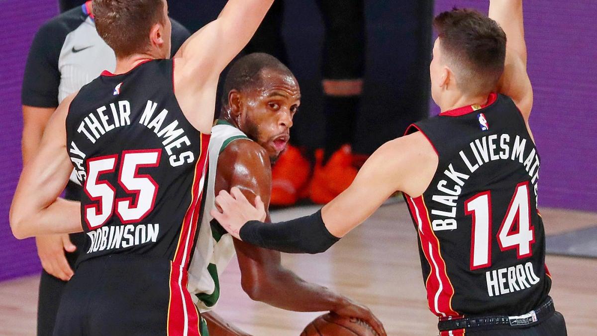 Nba Playoffs Betting Odds Picks Schedule Heat Oust Bucks Rockets Top Lakers As Both No 1 Seeds Fall Cbssports Com