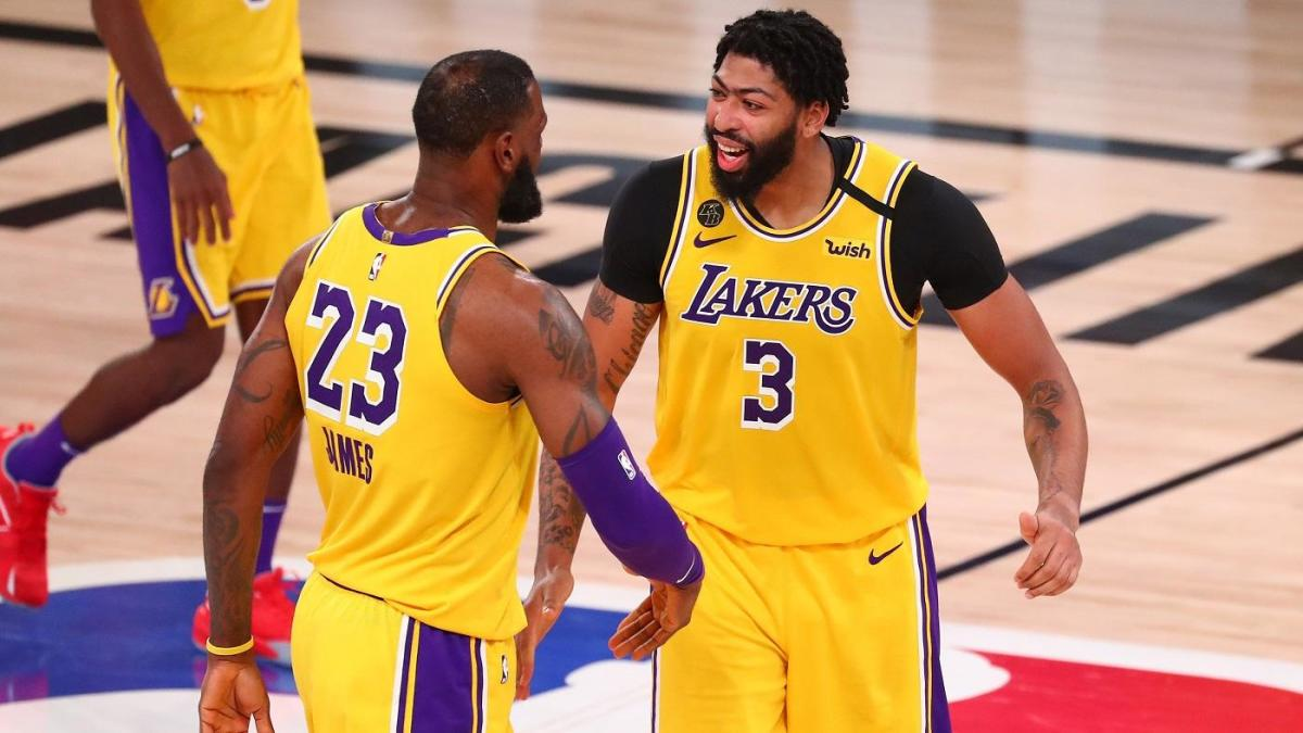 Nba Finals Mvp Race Making The Case For Lebron James And Anthony Davis As Lakers Approach 2020 Championship Cbssports Com