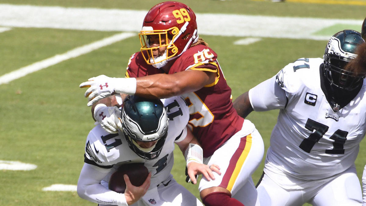 Chase Young Defensive Line Comes As Advertised In Week 1 Could Propel Washington As 2020 S Surprise Team Cbssports Com
