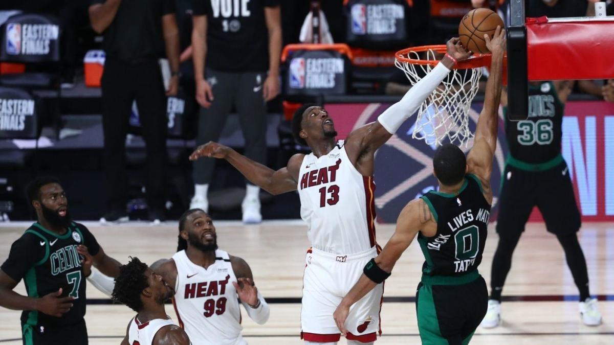 NBA – La stoppata di Adebayo frena Tatum e i Celtics, gara-1 è dei Miami Heat!