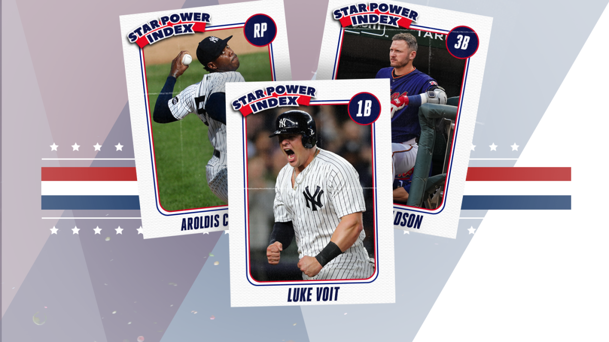 MLB Star Power Index: Yankees are powering back up; in praise of Josh Donaldson's calculated pettiness