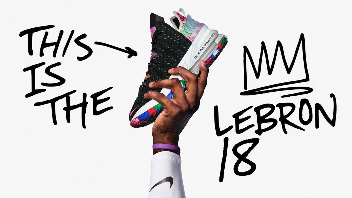 Nike LeBron 18 colorways, release dates