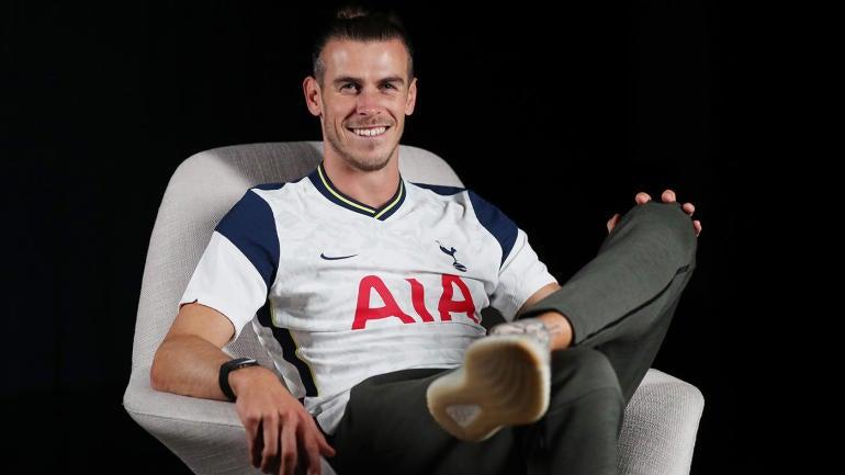Tottenham Hotspur Unveil New Signing Gareth Bale