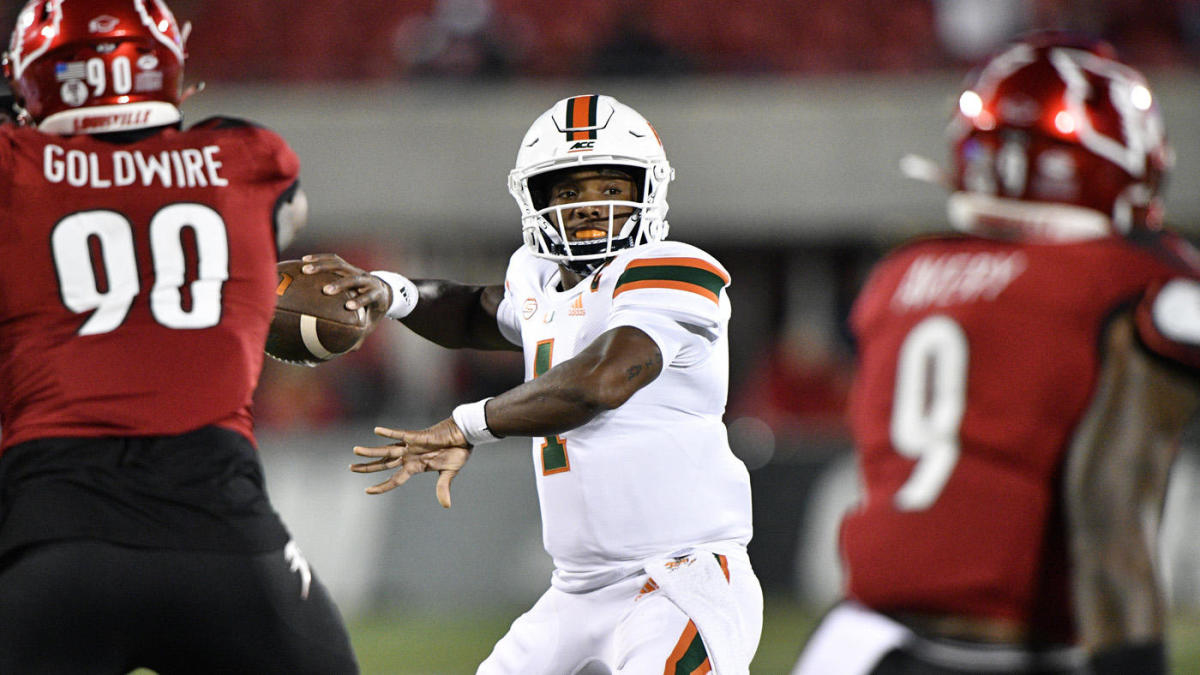 Miami Vs Virginia Tech Odds Line 2020 College Football Picks Predictions From Expert On 15 4 Run Cbssports Com