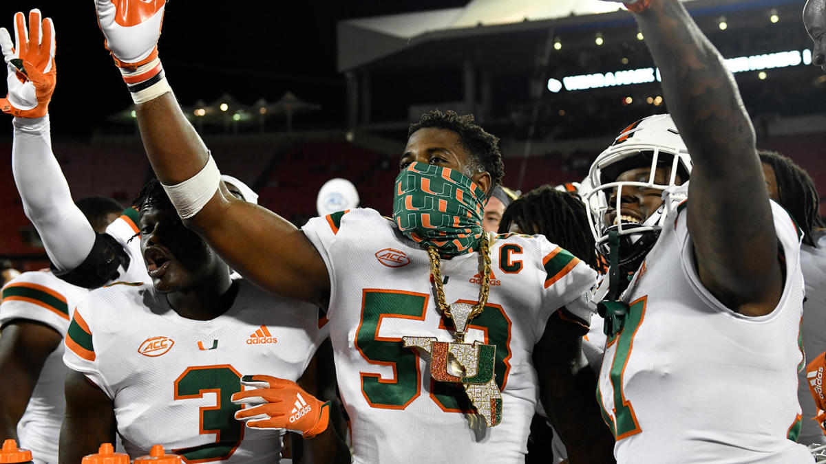 AP Top 25 poll: Miami surges, Oklahoma State tumbles in new college football rankings