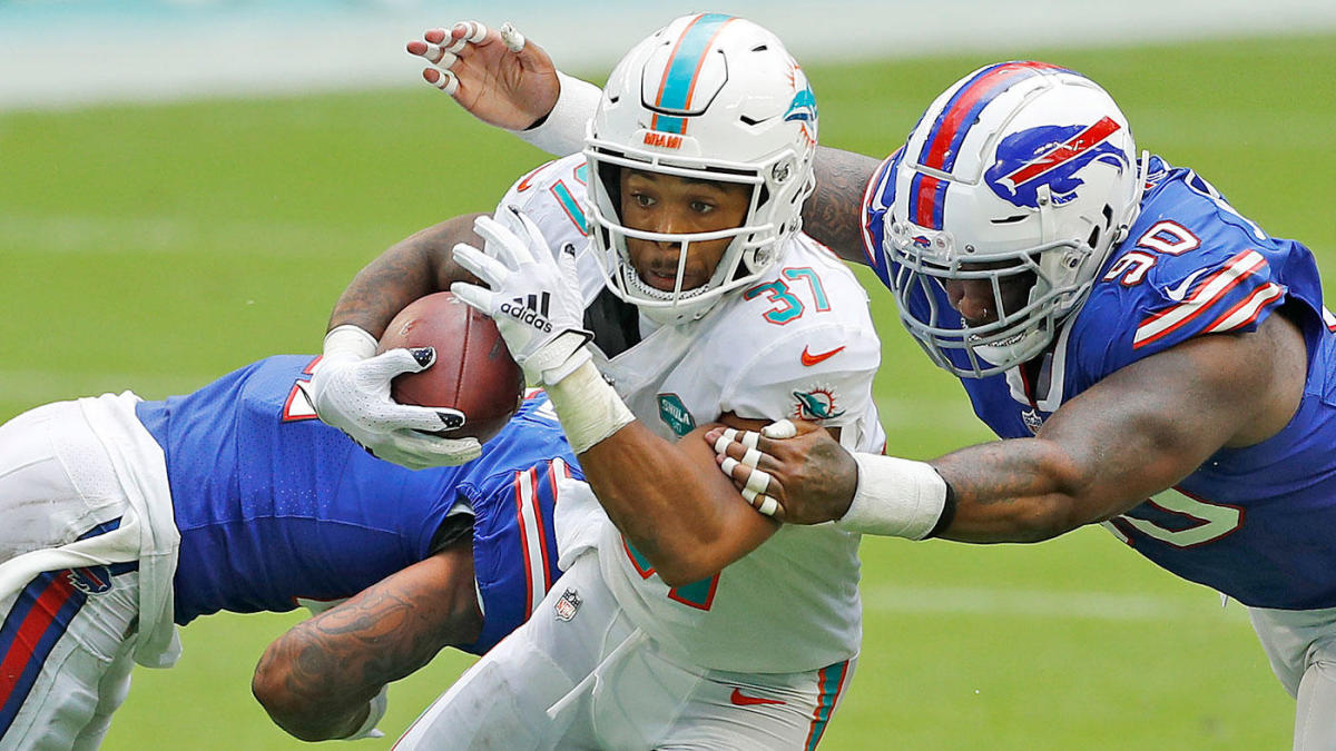Fantasy Football Week 17 Start 'Em & Sit 'Em Running Backs: Myles Gaskin David Johnson can finish strong – CBS Sports