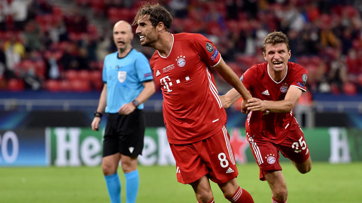 Bayern Munich vs. Sevilla score: Javi Martinez nets UEFA Super Cup winning goal in extra time for Bavarians - CBSSports.com