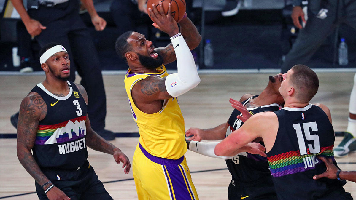 Lakers vs. Nuggets score, takeaways: LeBron takes on Murray late as L.A. dominates the glass to take 3-1 lead