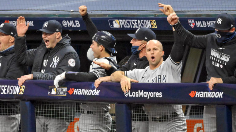 MLB: Wild Card-New York Yankees to Cleveland Indians