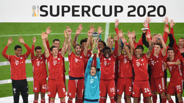 Bayern Munich Vs Borussia Dortmund Score German Supercup Goes To The Bavarians Their Fifth Trophy Of CBSSports com