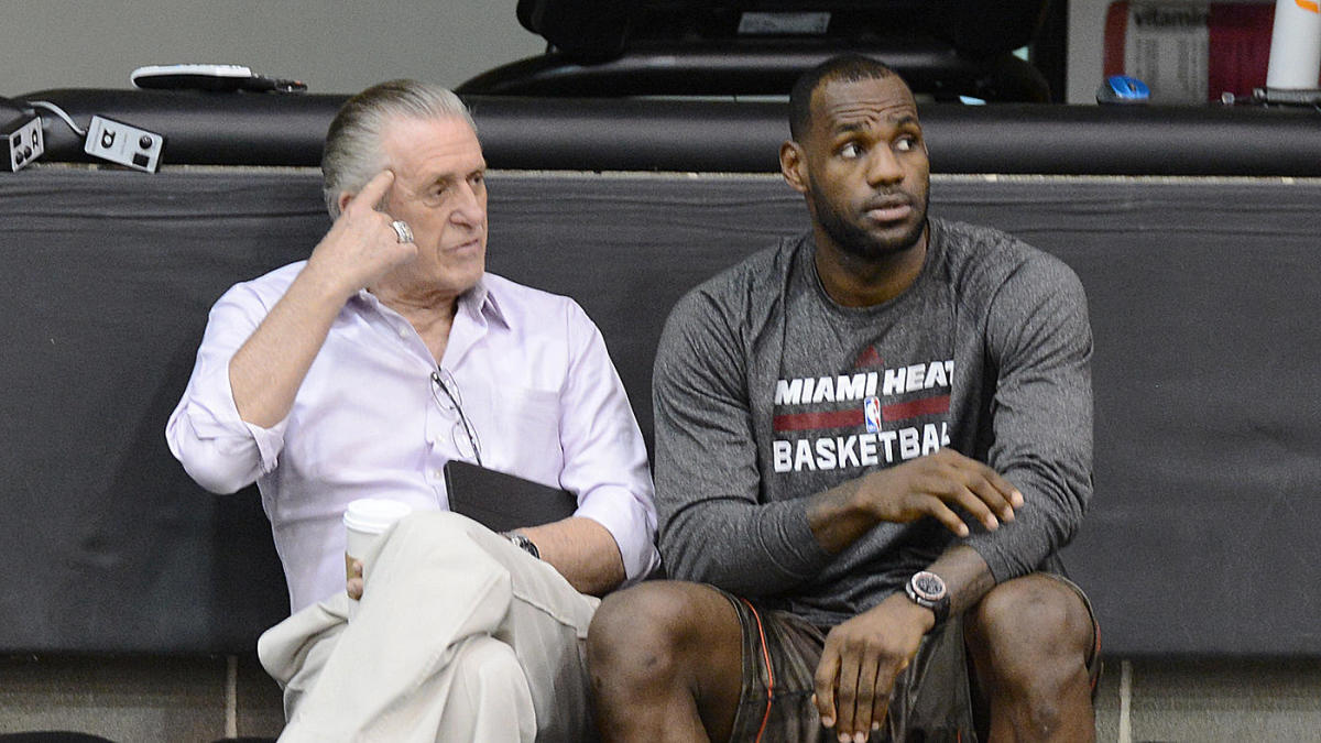NBA fines Heat president Pat Riley $25000 for tampering comments regarding LeBron James – CBS Sports