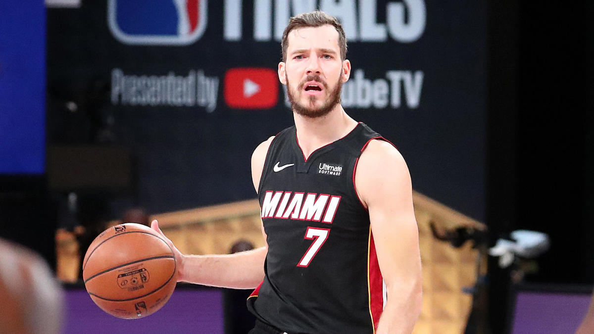 2020 Nba Finals Goran Dragic S Foot Injury Stings Even More Because Of The Way He Started Game 1 Vs Lakers Cbssports Com