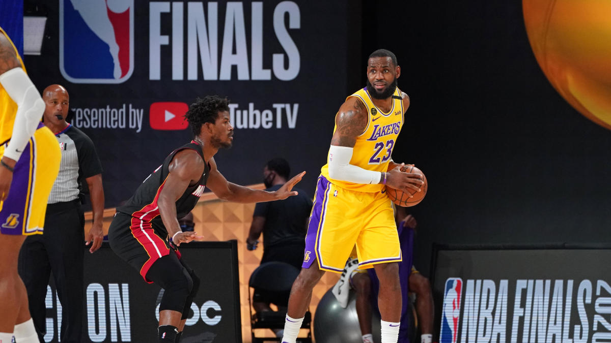Lakers vs. Heat NBA Finals betting odds: Even with Dragic ...