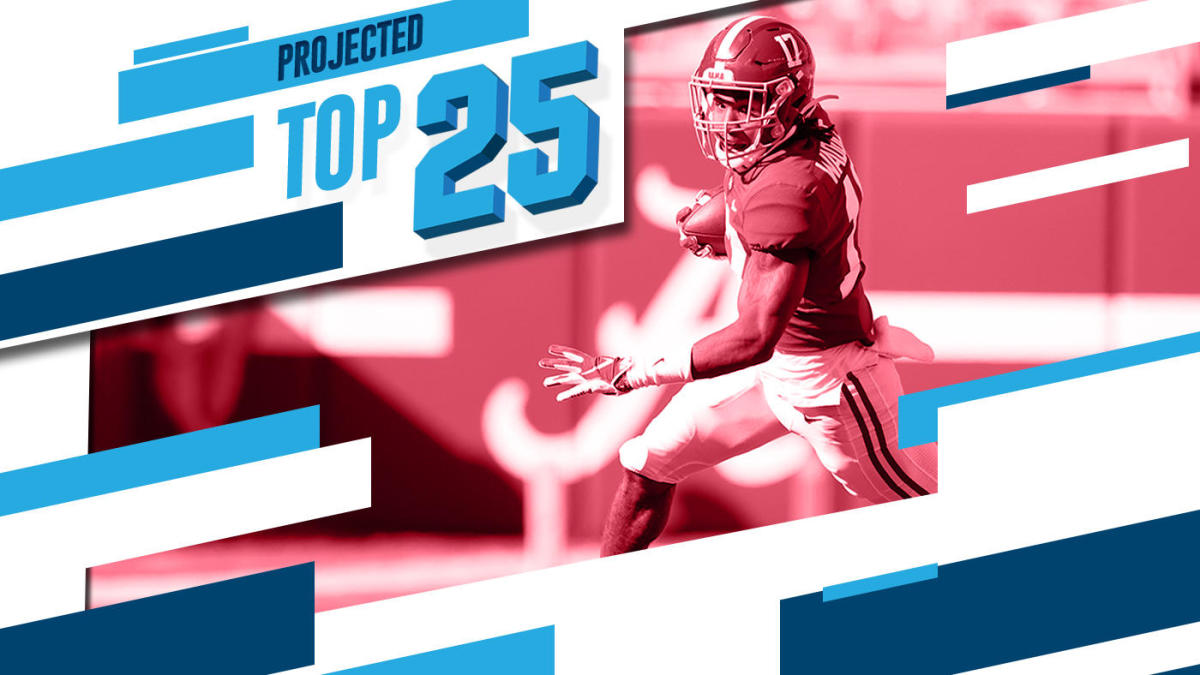 Tomorrow's Top 25 Today: Alabama eyes No. 1, losses by eight ranked teams shake up college football rankings