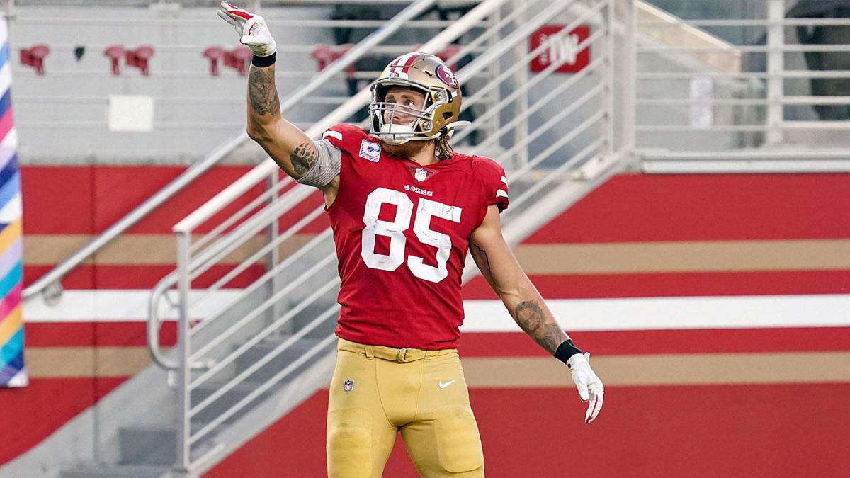 Fantasy Football Week 16 Tight End Preview: George Kittle's risky, but still worth starting