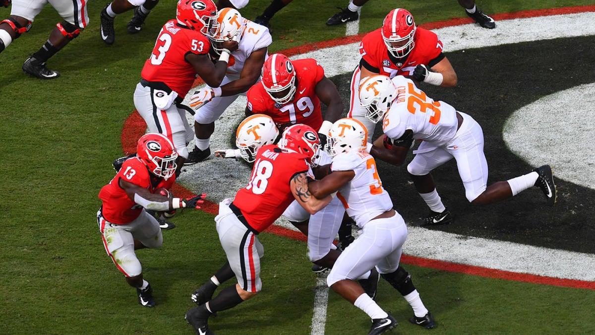 Georgia vs. Tennessee score: Live game updates, college ...