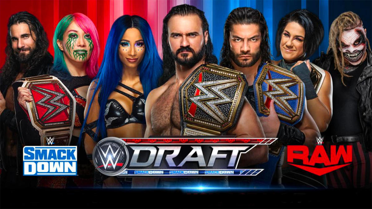 2020 WWE Draft results: SmackDown and Raw rosters picks all undrafted superstars – CBS Sports
