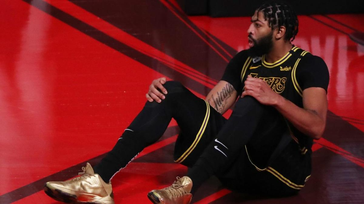 Lakers' Anthony Davis listed as probable for Game 6 of NBA Finals after re-aggravating heel injury – CBS Sports