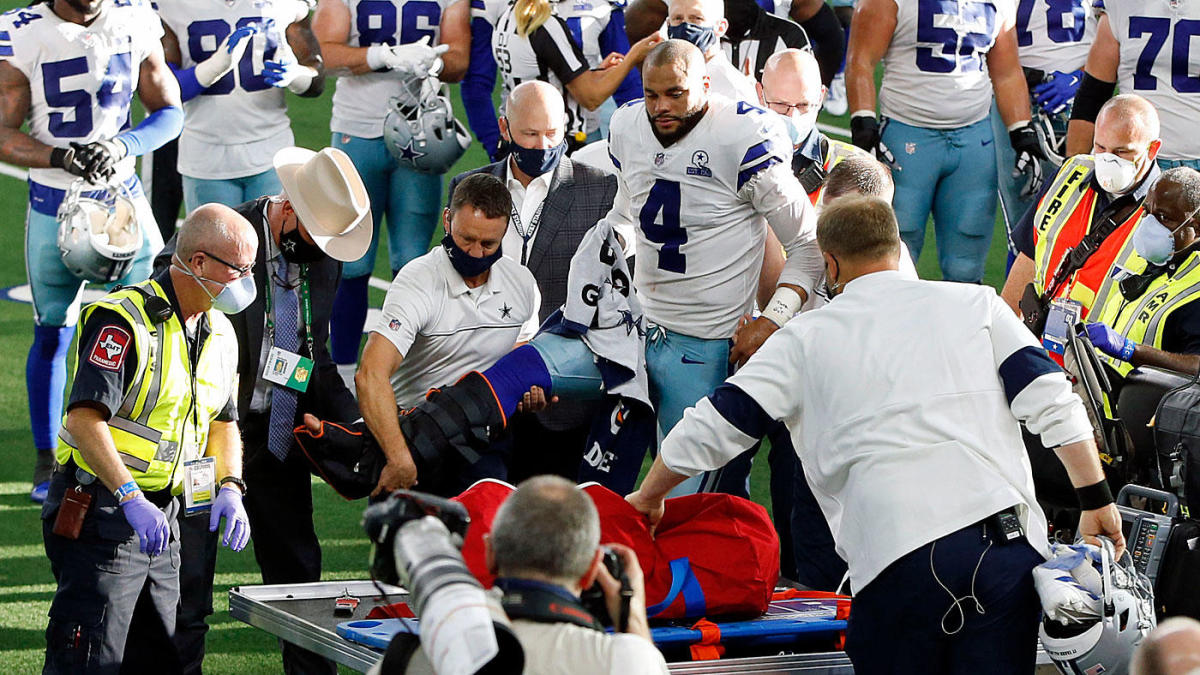 Dak Prescott injury: Cowboys QB to undergo ankle surgery after suffering compound fracture vs. Giants