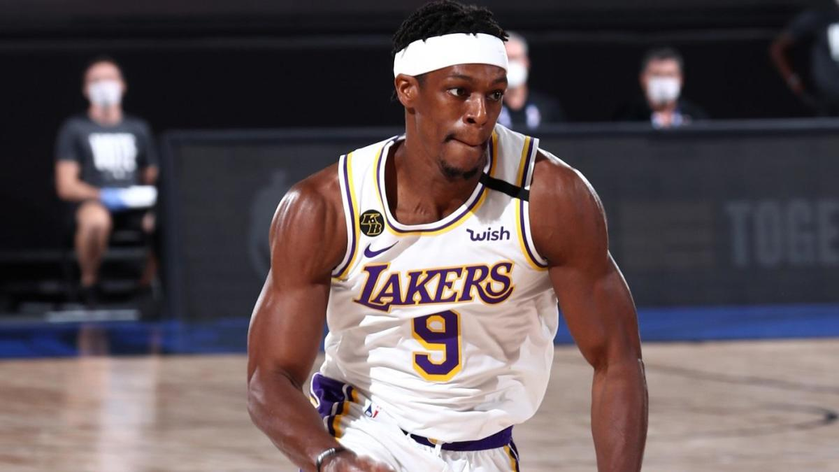 Rajon Rondo Becomes Second Player In NBA History To Win A Championship With Both Lakers And Celtics CBSSports com