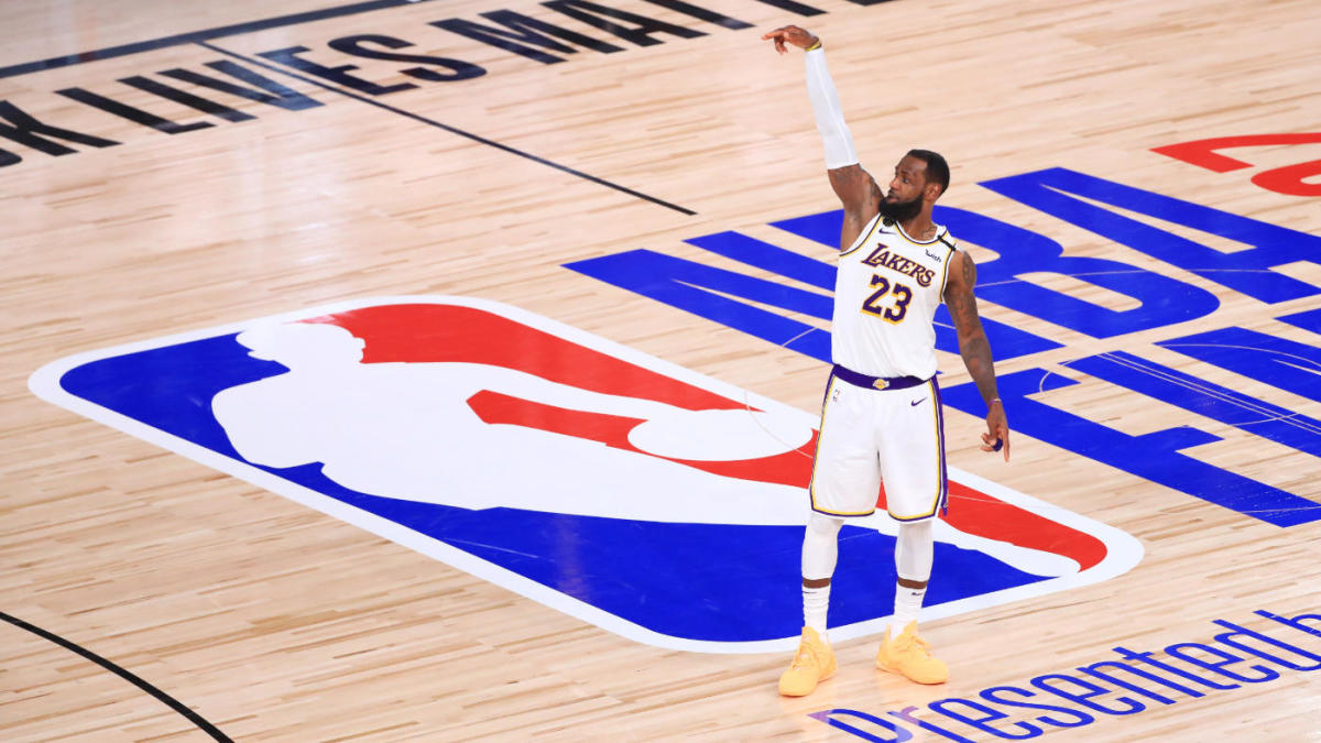 2020 Nba Finals Lebron James Leads Lakers To Title Over Heat Makes History With Fourth Ring Cbssports Com
