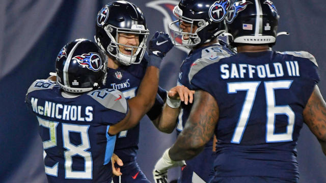 Titans Vs Bills Score Tennessee Dismantles Buffalo Behind Ryan Tannehill After Two Week Hiatus Cbssports Com