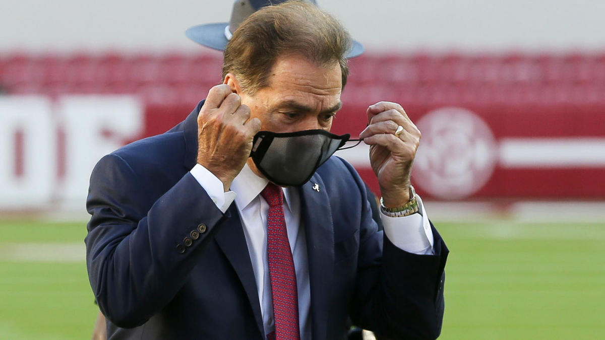 Alabama's Nick Saban tests positive for COVID-19, will not coach Iron Bowl showdown with Auburn