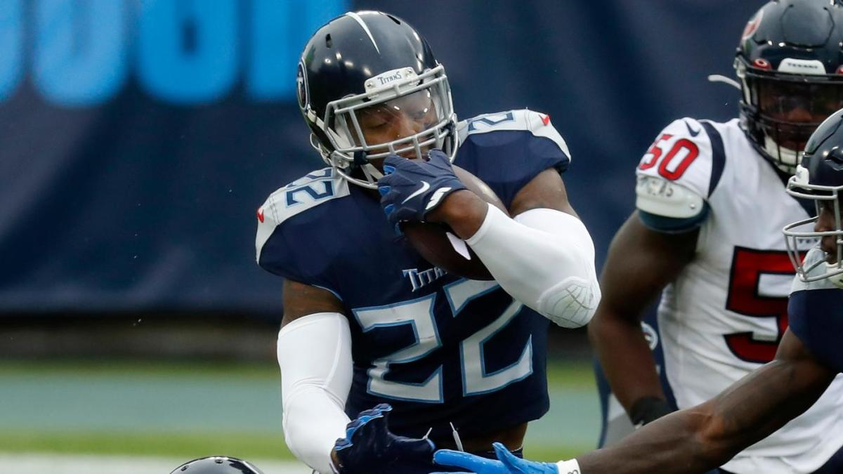 Derrick Henry by the numbers: Titans running back has been class of the position since Week 7 of 2019 season