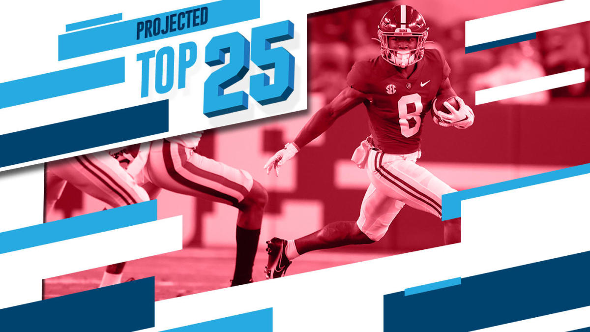 Tomorrow's Top 25 Today: Alabama leads depleted SEC as two more fall from college football rankings