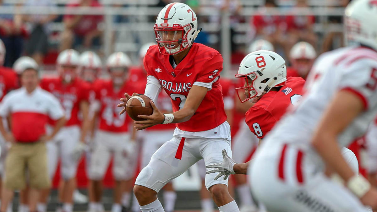 High School Football Rankings Center Grove Enters Maxpreps Top 25 After Key Win Over Cathedral Cbssports Com