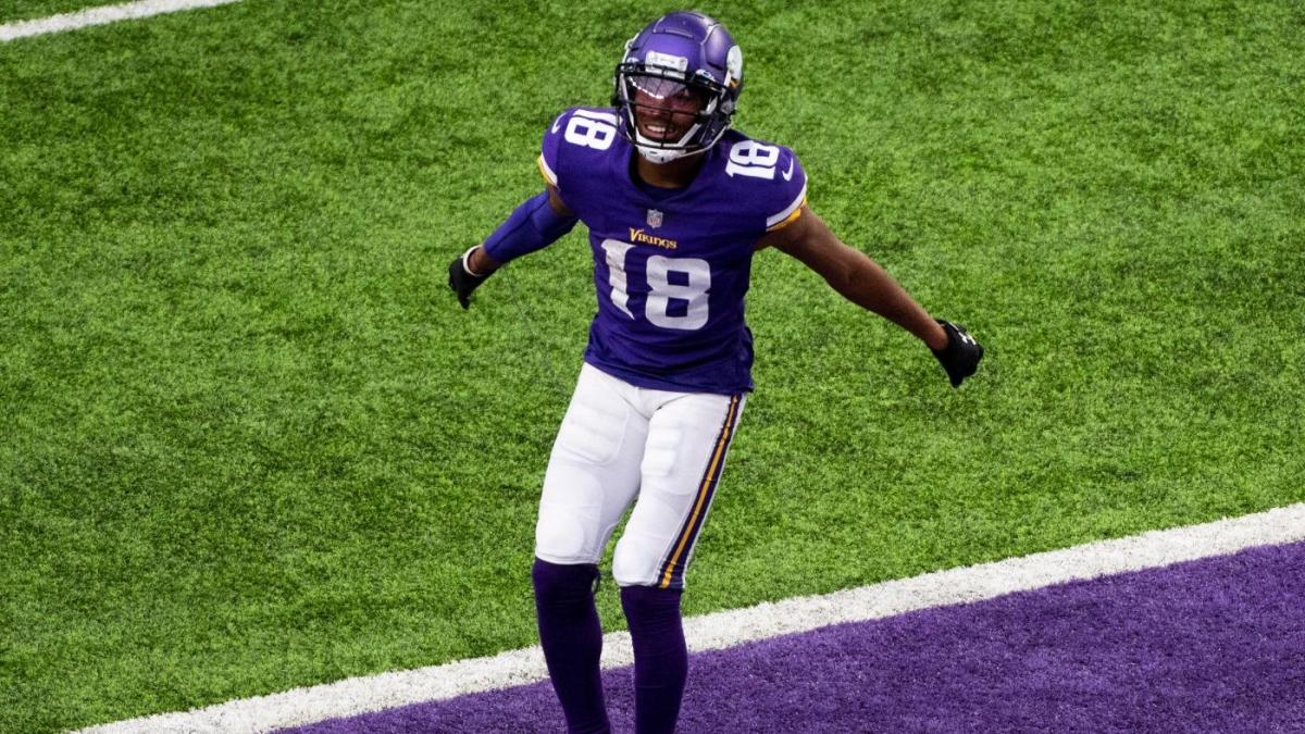 Justin Jefferson becomes first rookie wide receiver since Randy Moss to make All-Pro team
