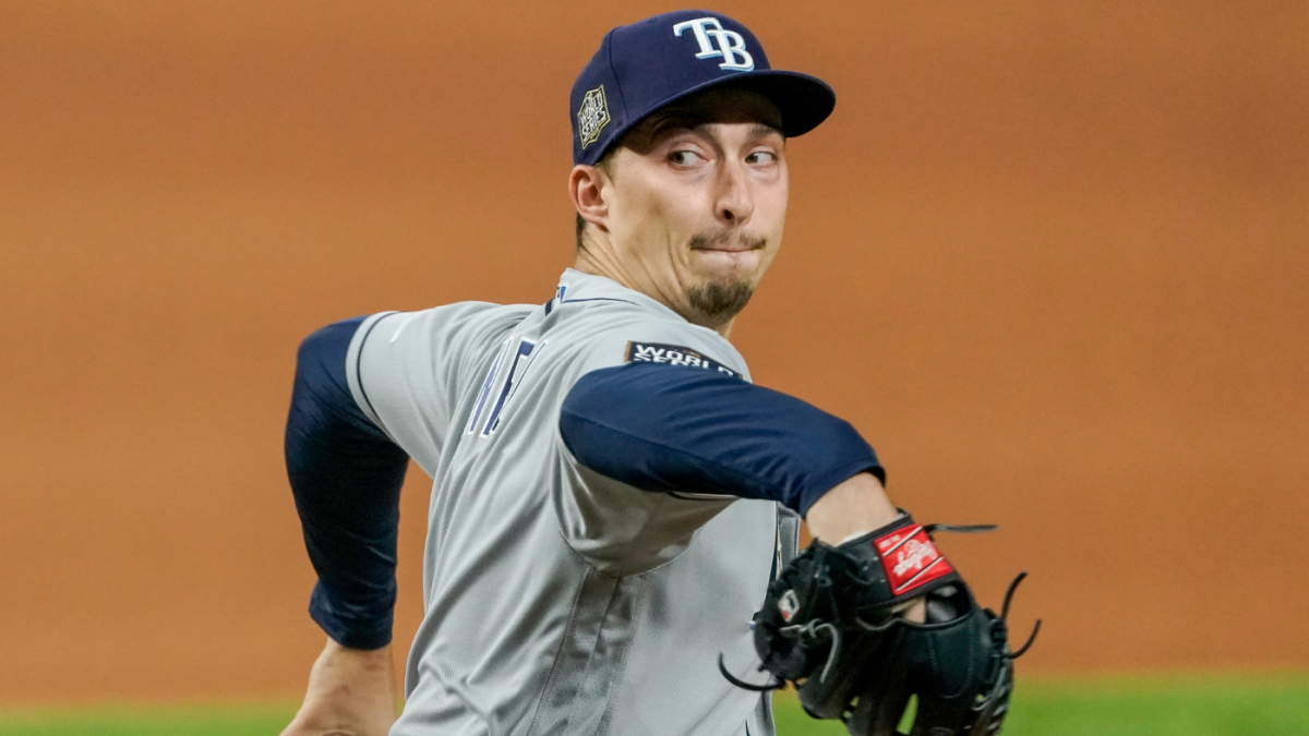 World Series Blake Snell Was Unhittable Early In Game 2