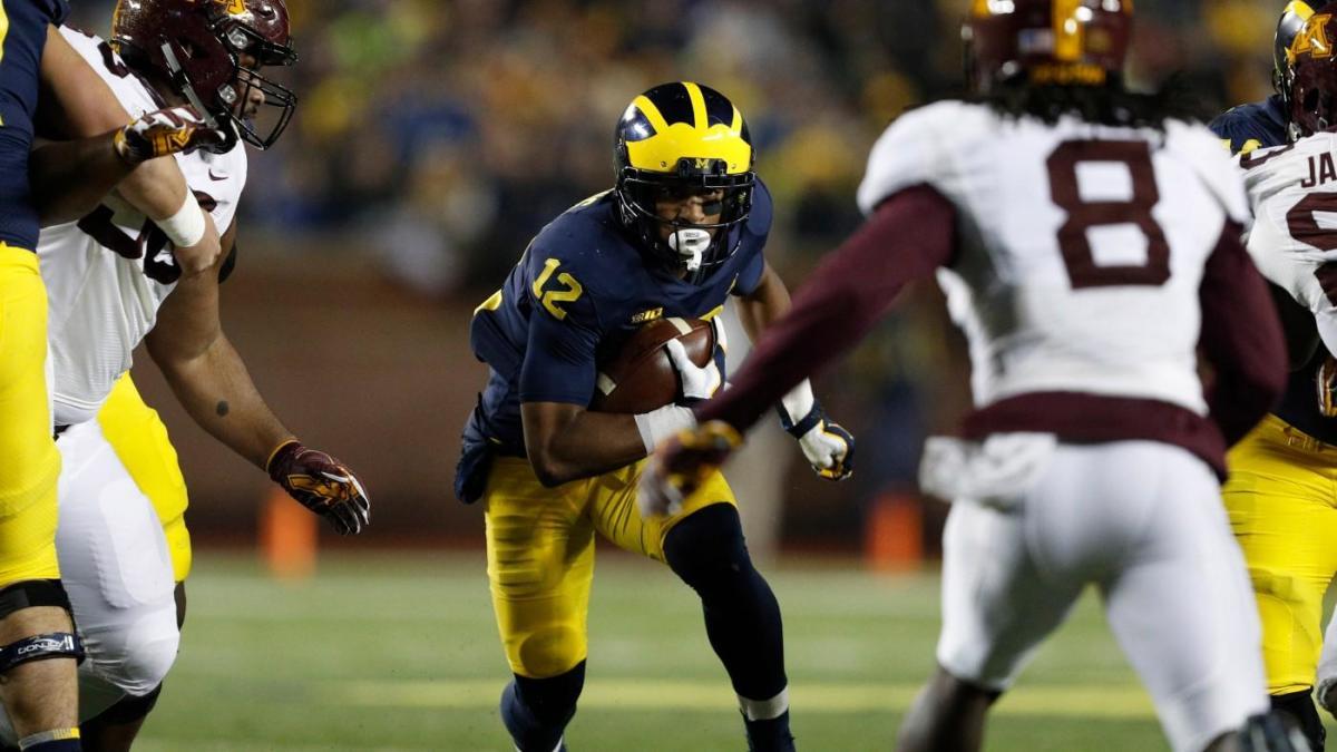 The Six Pack Michigan Vs Minnesota Oklahoma State Vs Iowa State Among Best Week 8 College Football Picks Cbssports Com