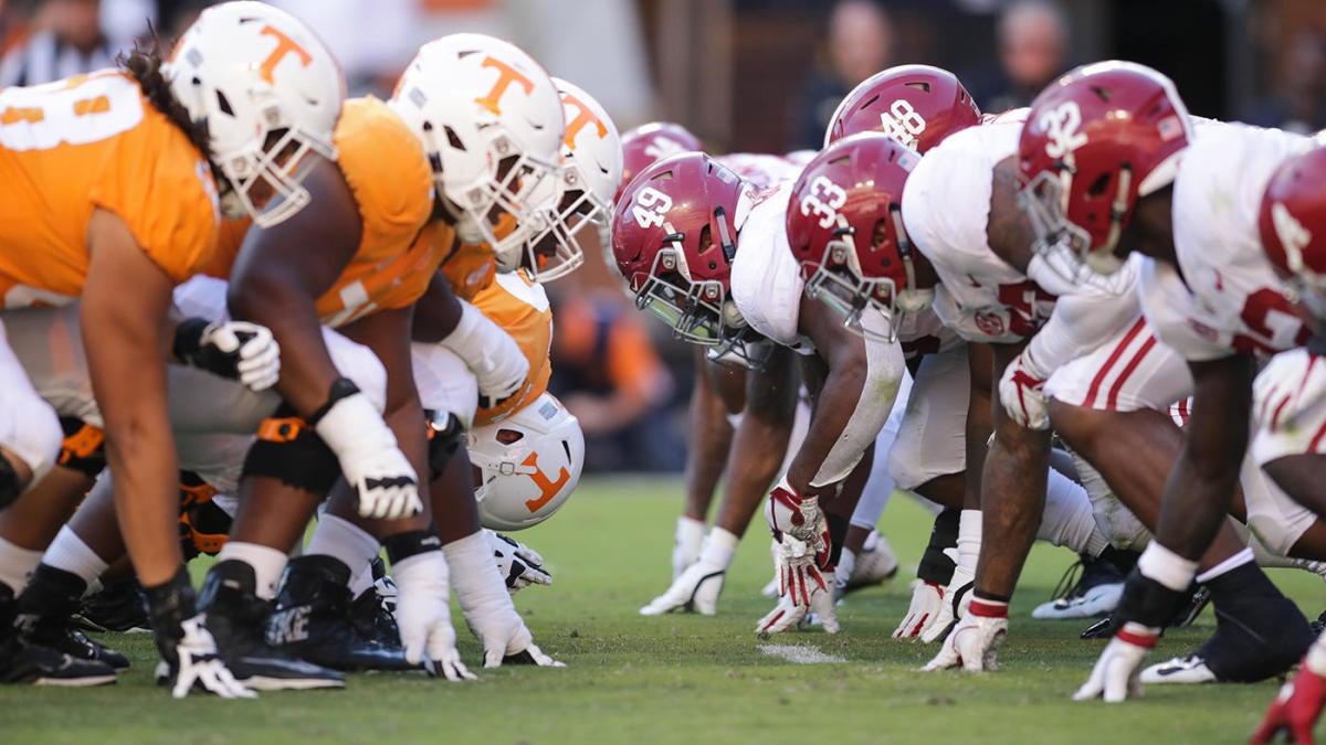Alabama vs. Tennessee score: Live game updates, college ...