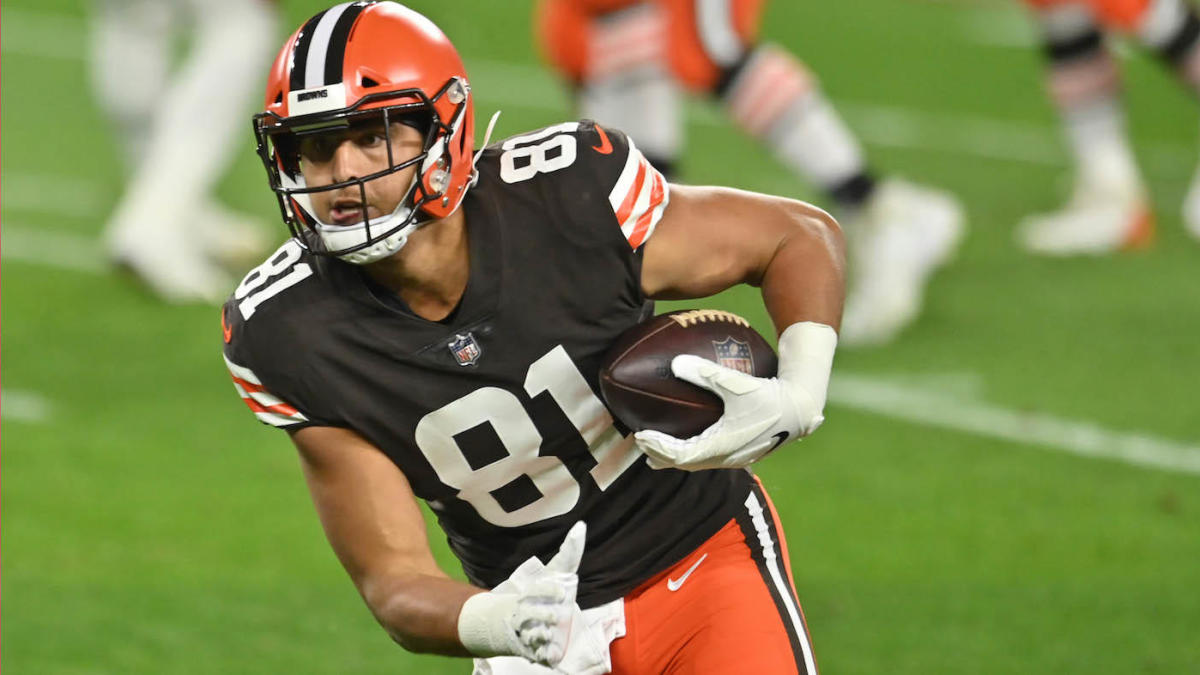 Browns' Austin Hooper to miss Week 7 game vs. Bengals and possibly more  time after undergoing appendectomy - CBSSports.com