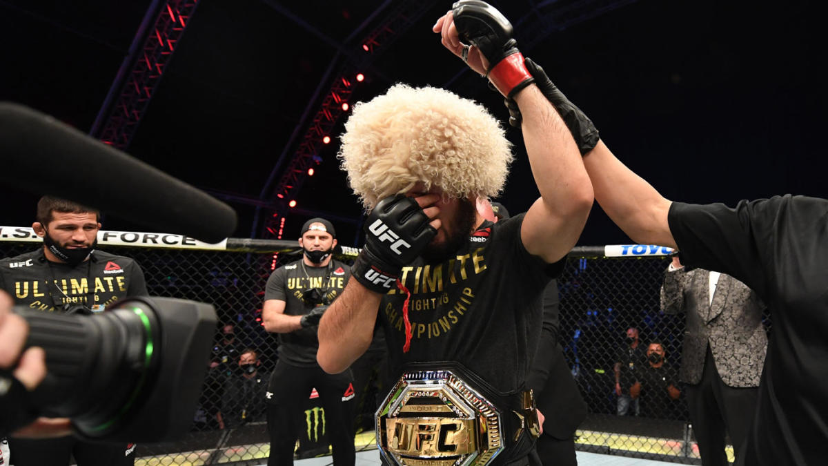 Khabib Nurmagomedov Retires Undefeated Legend Leaves Ufc The Way He Promised His Father He Would Perfect Cbssports Com