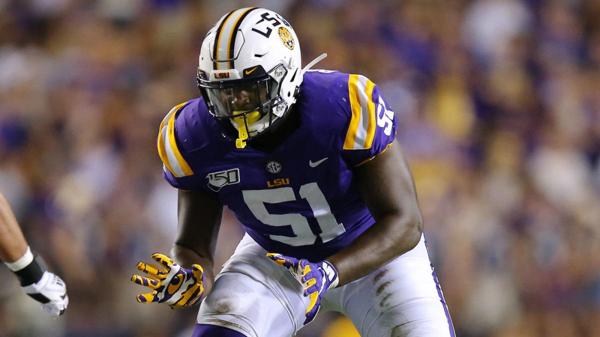 LSU starting offensive tackle Dare Rosenthal suspended indefinitely, coach Ed Orgeron announces