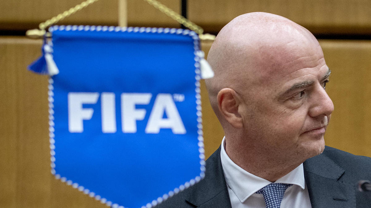 FIFA president Gianni Infantino, 50, tests positive for coronavirus