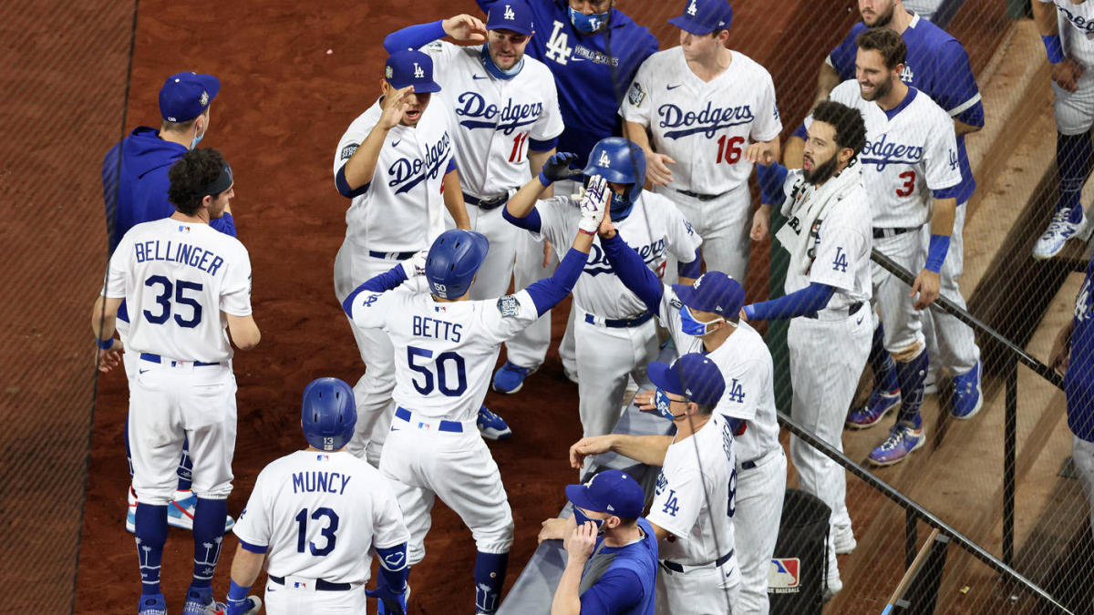 World Series 2020 Twitter Reacts As Dodgers Snap Championship Drought Cbssports Com