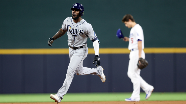 world series rays randy arozarena extends mlb postseason record with game 6 home run cbssports com rays randy arozarena extends mlb