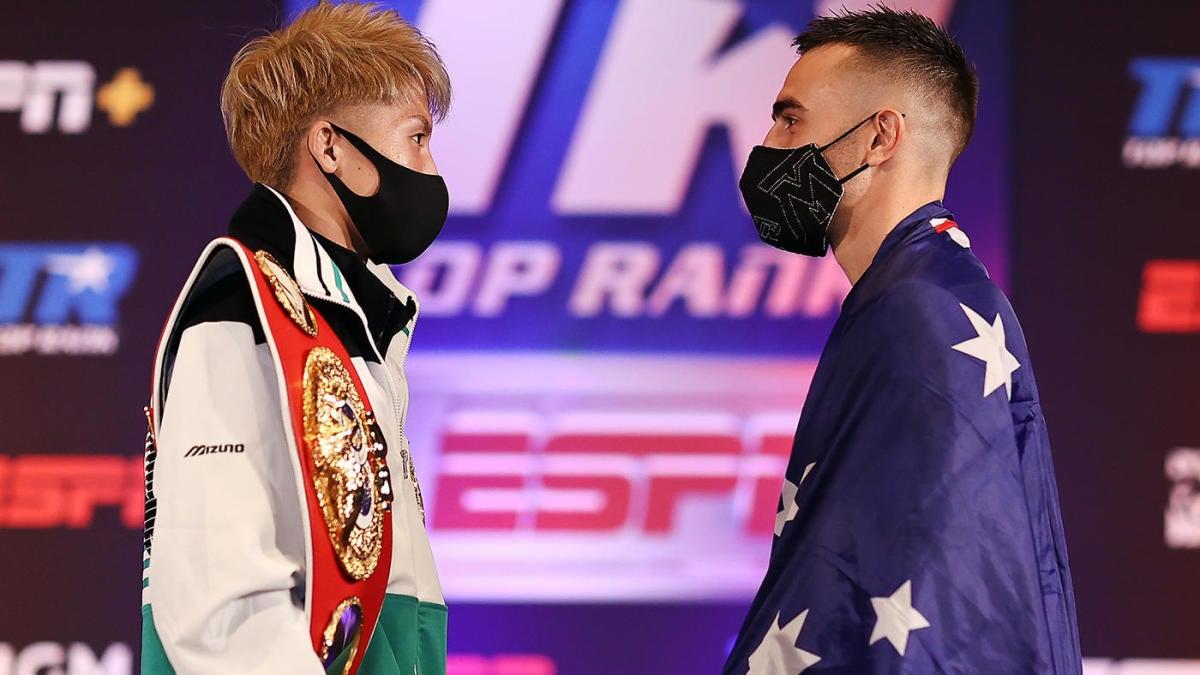 Naoya Inoue vs. Jason Moloney: Fight prediction, card, odds, start time, how to watch, live stream - CBS Sports