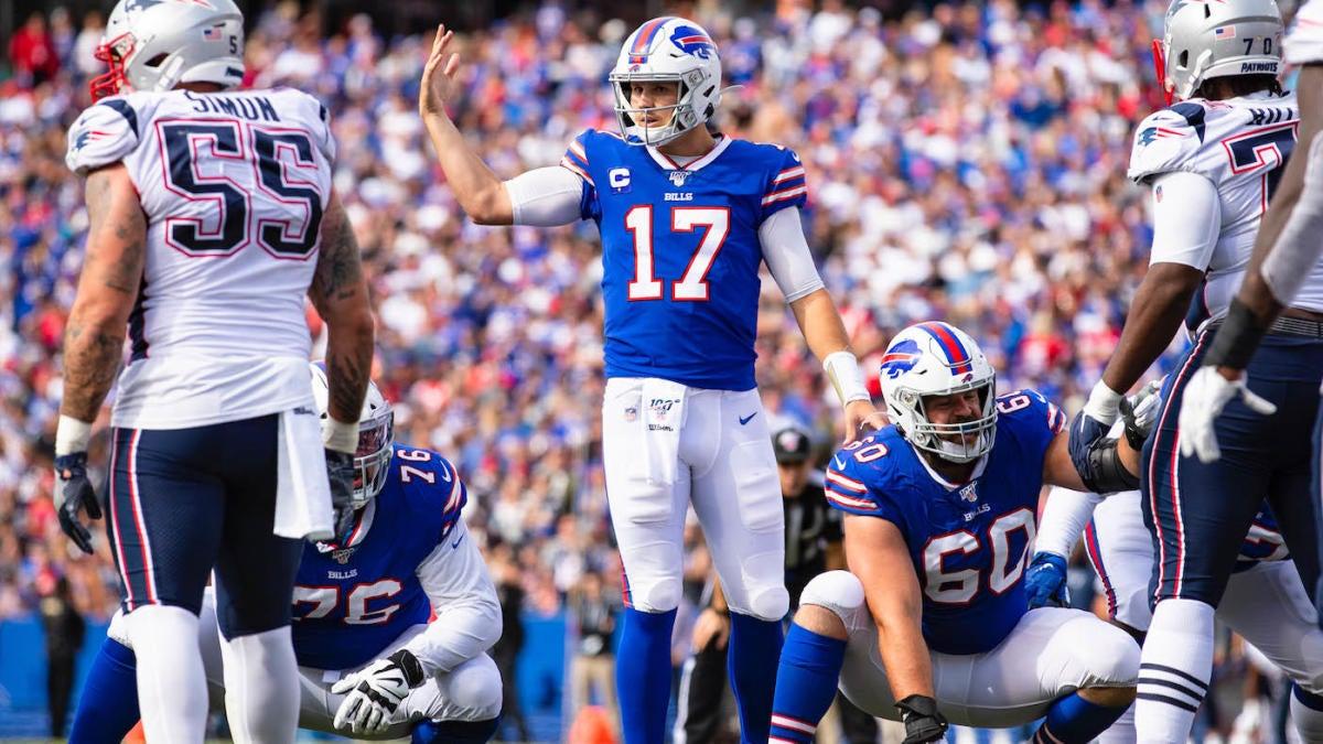 Week 8 NFL Betting Picks: Patriots at Bills