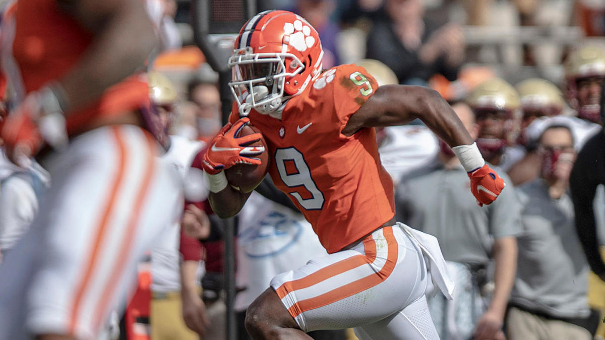 Clemson star running back Travis Etienne breaks 42-year-old ACC career  rushing record - CBSSports.com