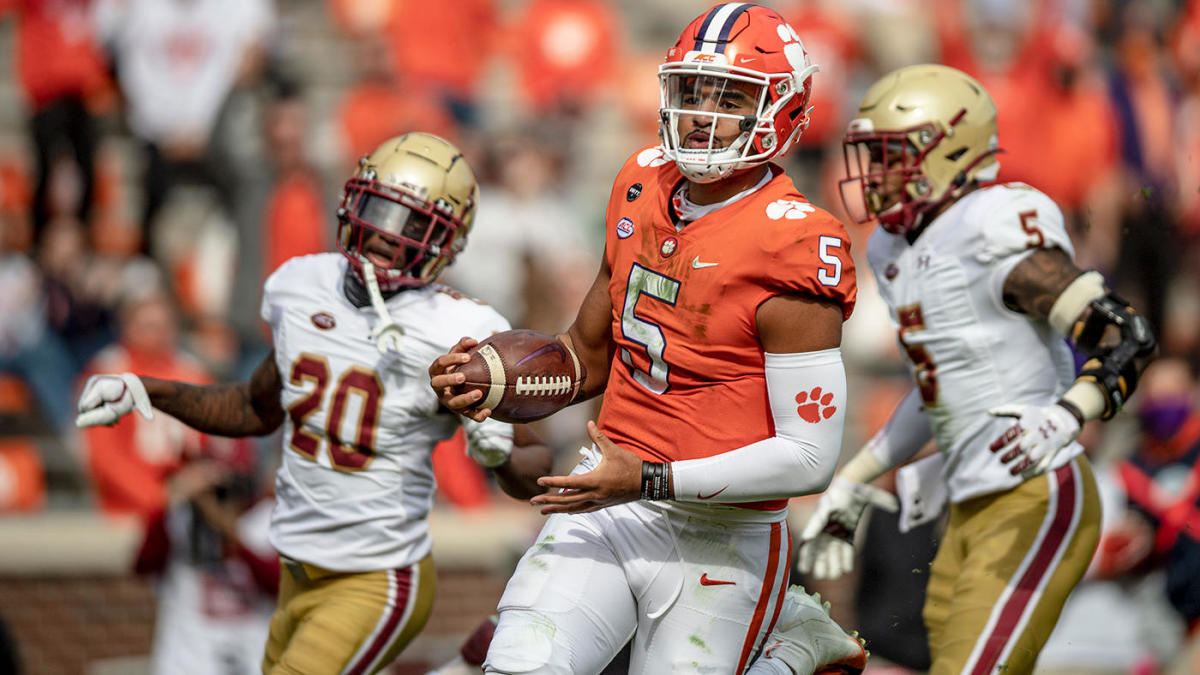 Clemson vs. Boston College score, takeaways: No. 1 Tigers storm back from 18 down behind D.J. Uiagalelei