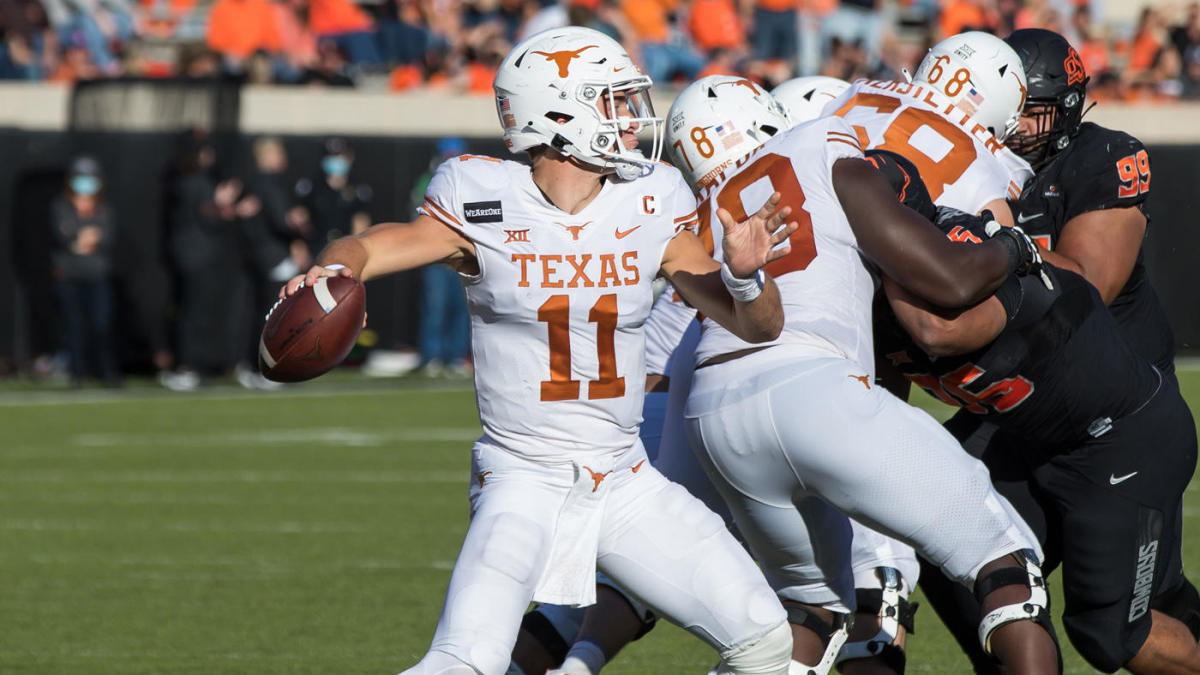 Texas Vs Oklahoma State Score Takeaways Longhorns Storm Back To Knock Off No 6 Cowboys In Overtime Cbssports Com